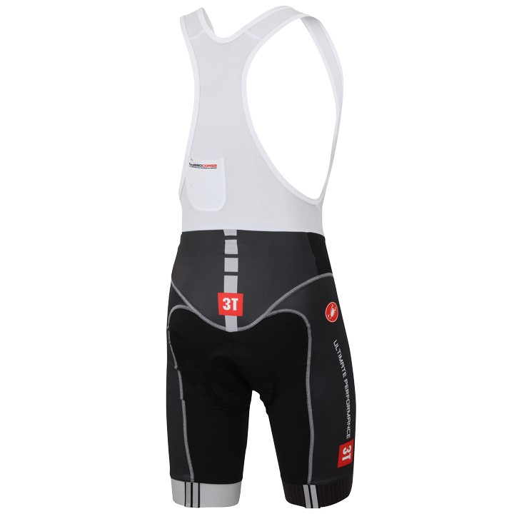 2015 Castelli 3T Black And White - Short Sleeve Cycling Jersey And Bib  Shorts 83e2ff96a