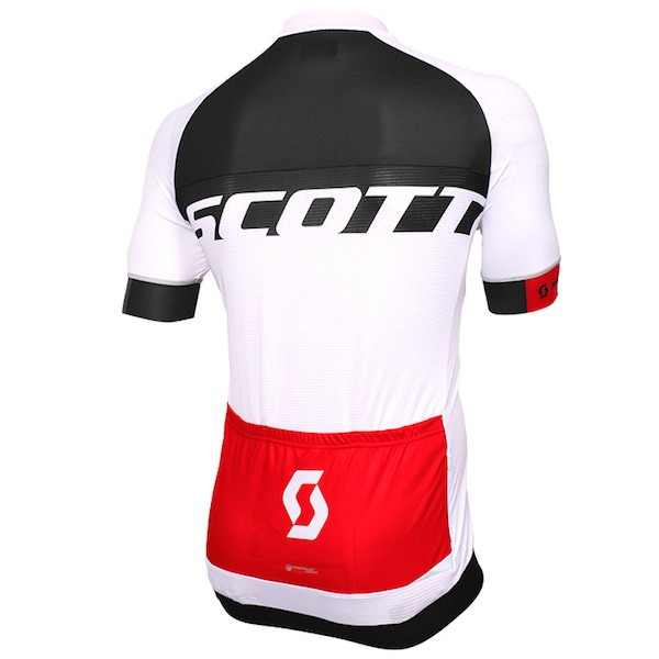 cc05df4ed 2015 Scott RC Pro Black-White-Red - Short Sleeve Cycling Jersey And Bib  Shorts