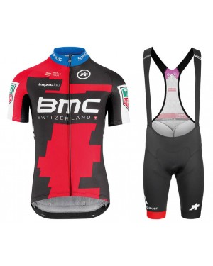 2018 Team BMC Cycling Jersey And Bib Shorts Set