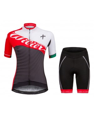 2018 Wilier Vale Women's Cycling Jersey And Shorts Set