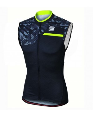 2016 Sportful Selva Black Camouflage - Cycling Vest