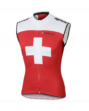 2016 Sportful Swiss Red - Cycling Vest