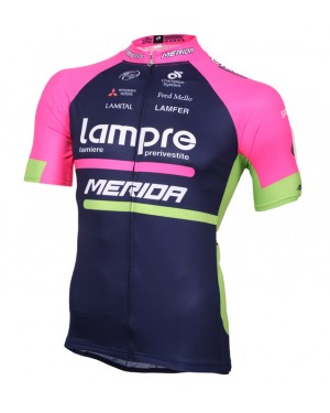 2016 Lampre Merida - Short Sleeve Cycling Jersey