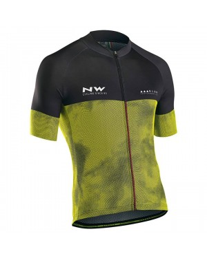 2018 Northwave Blade 3 Yellow Cycling Jersey