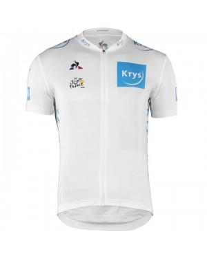 2018 Tour De France Young Rider Classification White Cycling Jersey