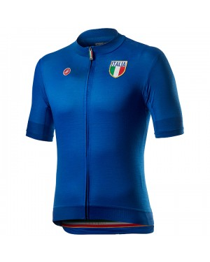 2020 Italian Country Blue Cycling Jersey