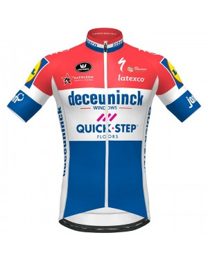 2020 Quick-Step Netherlands Champion Cycling Jersey