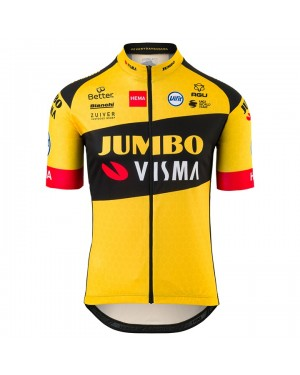2020 Team JUMBO-VISMA Kids Cycling Jersey
