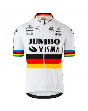 2020 Team JUMBO-VISMA World Champion Cycling Jersey