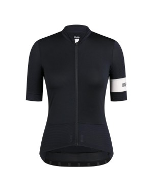 2020 Rapha Pro Team Women's Black-White Cycling Jersey