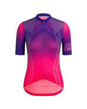 2020 Rapha Pro Team Women's Purple Cycling Jersey