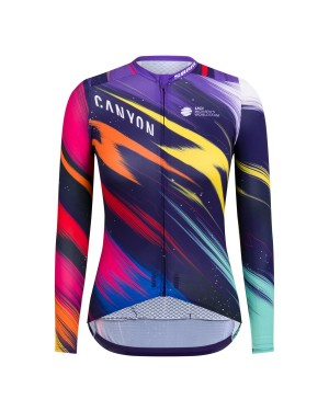 2020 Canyon Pro Team CS Women's Long Sleeve Cycling Jersey