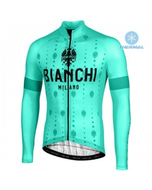 2020 Bianchi YDL Thermal Long Sleeve Cycling Jersey