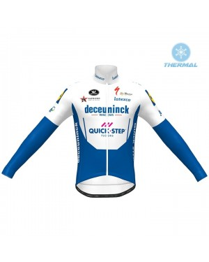 2020 Quick-Step Thermal Long Sleeve Cycling Jersey