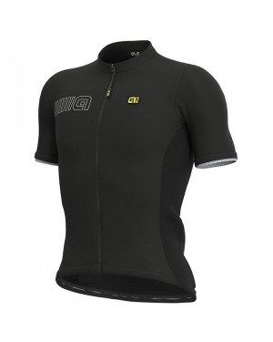 2021 ALE Team Black Cycling Jersey