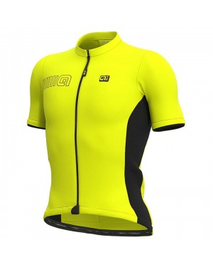 2021 ALE Team Yellow Cycling Jersey