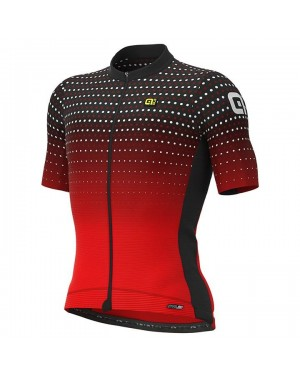 2021 ALE Bullet Red Cycling Jersey