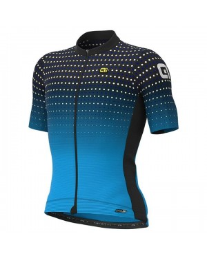 2021 ALE Bullet Blue Cycling Jersey