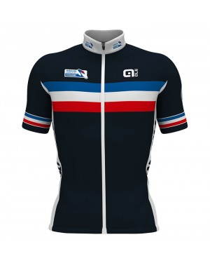 2017 French National Team Short Sleeve Cycling Jersey