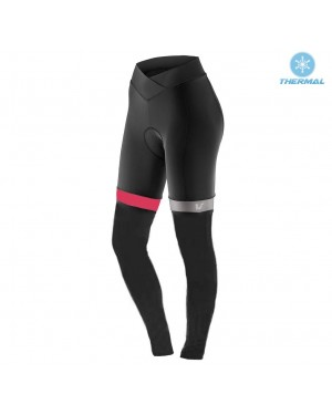 2017 Liv Accelerate Women's Black-Pink Thermal Cycling Pants