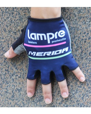 2016 Team Lampre Blue Cycling Gloves