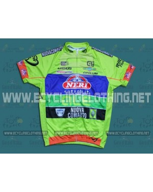 2014 Yellow Fluo - Neri Sottoli - Short Sleeve Cycling Jersey