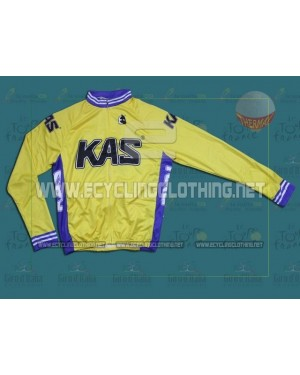 KAS Kaskol - Thermal Long Sleeve Cycling Jersey