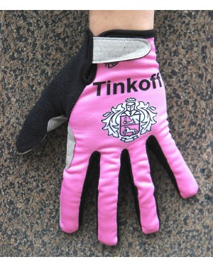 2016 Tinkoff Pink Thermal Cycling Gloves