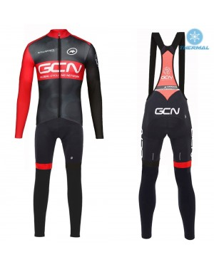 2017 GCN Team Pro Thermal Cycling Jersey And Bib Pants Set