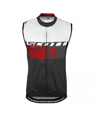 2016 Scott RC White-Black-Red - Cycling Vest