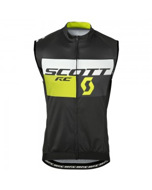 2016 Scott RC Black-Yellow - Cycling Vest