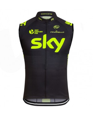 2016 Sky Team Fluo Edition - Cycling Vest