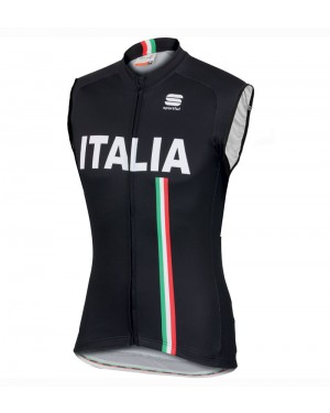 2016 Sportful Italy IT Black - Cycling Vest