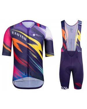2020 Canyon Pro Team CS Cycling Jersey And Bib Shorts Set
