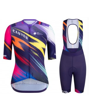2020 Canyon Pro Team CS Women Cycling Jersey And Shorts Set