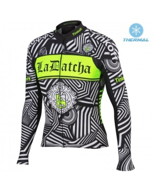 2016 Tinkoff Training Black - Thermal Long Sleeve Cycling Jersey