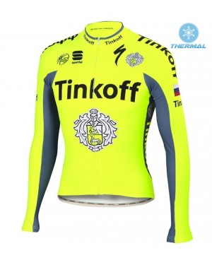 2016 Tinkoff Race Team - Thermal Long Sleeve Cycling Jersey