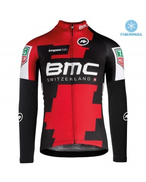 2017 BMC Racing Team Thermal Long Sleeve Cycling Jersey