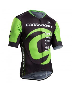 2018 Cannondale Factory Black-Green Cycling Jersey