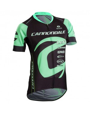 2018 Cannondale Factory Women's Black-Green Cycling Jersey