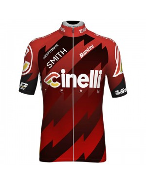 2018 Cinelli Red Cycling Jersey