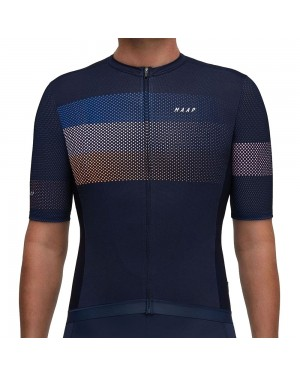 2019 MAAP Aether Navy Cycling Jersey