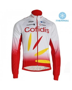 2019 Cofids Thermal Long Sleeve Cycling Jersey