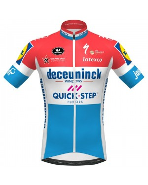 2020 Quick-Step Luxembourg Champion Cycling Jersey