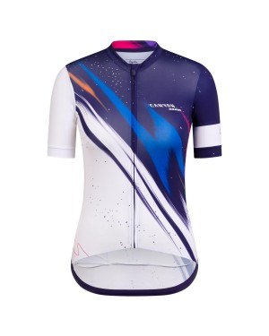 2020 Canyon Team Blue-White Women Cycling Jersey