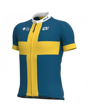 2020 Team FDJ Sweden Champion Cycling Jersey