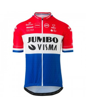 2020 Team JUMBO-VISMA Dutch Champion Cycling Jersey