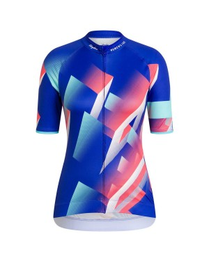 2020 Rapha Pro Team Women's Blue-Color Cycling Jersey
