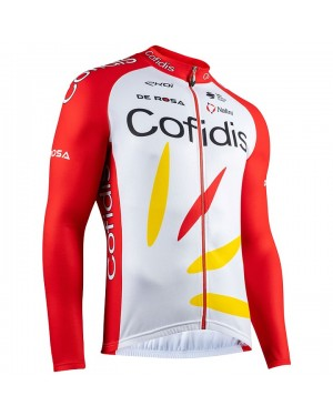 2020 Team Cofidis Pro Long Sleeve Cycling Jersey