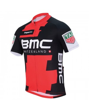 2017 BMC Racing Team Short Sleeve Cycling Jersey